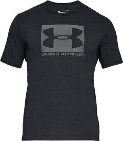 アンダーアーマー UNDER ARMOUR 3XLサイズ メンズ トレーニングTシャツ UAボックスド スポーツスタイル ショートスリーブ(ブラック×グラファイト) 1358569