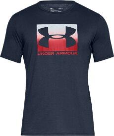 アンダーアーマー UNDER ARMOUR MDサイズ メンズ トレーニングTシャツ UAボックスド スポーツスタイル ショートスリーブ(アカデミー×レッド) 1358569
