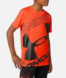 アンダーアーマー UNDER ARMOUR YMDサイズ ボーイズ トレーニングTシャツ UAテック ブランド ロゴ ショートスリーブ(ベタ×ブラック) 1353546