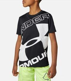 アンダーアーマー UNDER ARMOUR YMDサイズ ボーイズ トレーニングTシャツ UAテック ブランド ロゴ ショートスリーブ(ブラック) 1353546