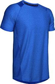 アンダーアーマー UNDER ARMOUR LGサイズ メンズ トレーニングTシャツ UA MK-1 ショートスリーブ(バーサブルー×モッドグレー) 1306428