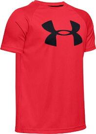 アンダーアーマー UNDER ARMOUR YMDサイズ ボーイズ トレーニングTシャツ UAテック ビッグロゴ ショートスリーブ(レッド×ブラック) 1351850