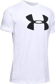 アンダーアーマー UNDER ARMOUR YMDサイズ ボーイズ トレーニングTシャツ UAテック ビッグロゴ ショートスリーブ(ホワイト×ブラック) 1351850