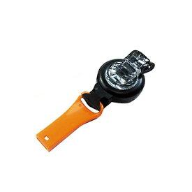 ハイマウント HIGHMOUNT クリップホイッスル リール付(リール長さ70cm/オレンジ) 23154