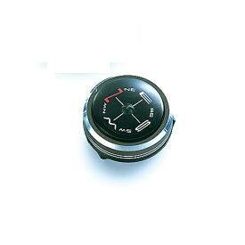 ハイマウント HIGHMOUNT リストコンパス(約φ25×16mm/メタリックグレー) 11216