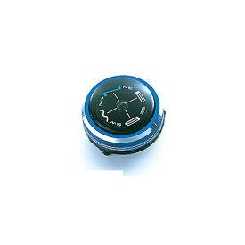 ハイマウント HIGHMOUNT リストコンパス(約φ25×16mm/メタリックブルー) 11217