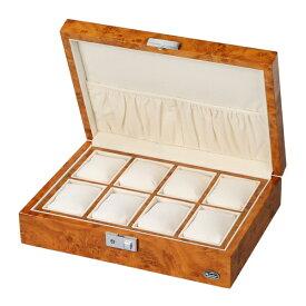 エスプリマ Es'prima ローテンシュラガー LUHW 木製時計8本収納ケース 【正規品】 LUHW(ローテンシュラガー) ライトブラウン/薄木目 LU51010RW