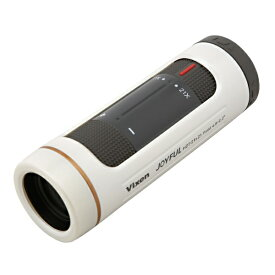 ビクセン Vixen 単眼鏡 ジョイフルモノキュラー HZ7-21x21(パールホワイト) [21mm]