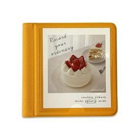 2NUL イヌル チェキスクエア アルバム INSTAX ALBUM SQ mini polaroid album SQUARE MANDARINE マンダリン
