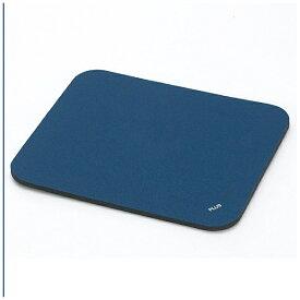 プラス PLUS マウスパッド[220x190x6.0mm] Mサイズ ブルー MM-521TBL