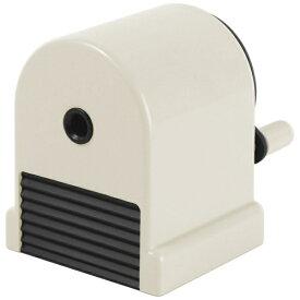 プラス PLUS 鉛筆削り[手動式] ペンシルシャープナー ウィッティ・パーティ シリーズ ホワイト WP-130N
