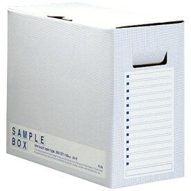 プラス PLUS サンプルボックス001SB A4 BL FL-001SBBL