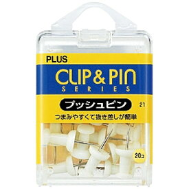プラス PLUS プッシュピンWH CP-101P CP-101P