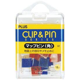 プラス PLUS マップピン 角 MIX CP-109R CP-109R