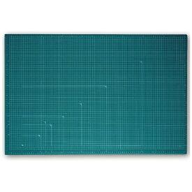プラス PLUS カッティングマット カラータイプ 両面使用 [900x600x2.5mm] グリーン CS-A1