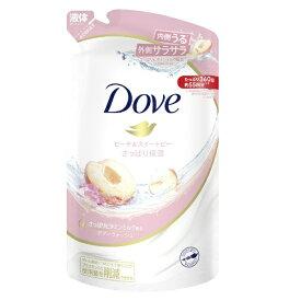 ユニリーバJCM Unilever Dove(ダヴ)ボディウォッシュ ピーチ&スイートピー つめかえ用 360g 〔ボディソープ〕
