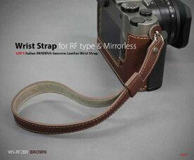 リムズ LIM'S ハンドストラップ ミラーレスRFカメラ用 ブラウン WS-RF2BR