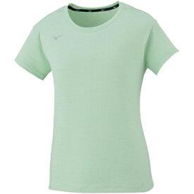 ミズノ mizuno レディース Tシャツ(Lサイズ/Pグリーン杢 ) 32MA0311