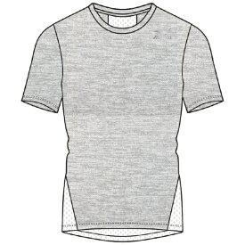 ミズノ mizuno メンズ 半袖シャツ(Lサイズ/アロイグレー) K2JA0110