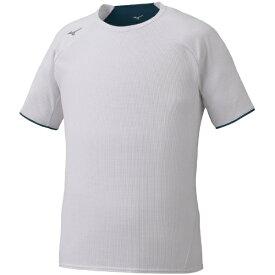 ミズノ mizuno メンズ ドライエアロフローTシャツ(Lサイズ/ホワイト) 32MA0021