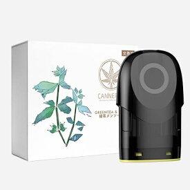 瑞龍バイオハイティック CBD(カンナビジオール)VAPE CG1P CG1交換用リキット 緑茶メンソール CANNERGY 緑茶メンソール CG1P-3