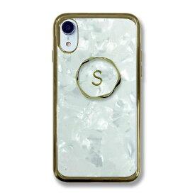 サムライワークス SAMURAI WORKS iPhoneXR イニシャルアセチケース S