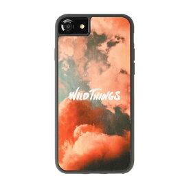 HAMEE ハミィ iPhone SE(第2世代)4.7インチ/ iPhone8/7/6s/6(4.7) WILD THINGS(ワイルドシングス) × kibaco Wood Case WILD THINGS PINK CLOUD 663-916629