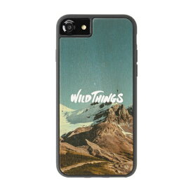 HAMEE ハミィ iPhone SE(第2世代)4.7インチ/ iPhone8/7/6s/6(4.7) WILD THINGS(ワイルドシングス) × kibaco Wood Case WILD THINGS RIDGE 663-916636