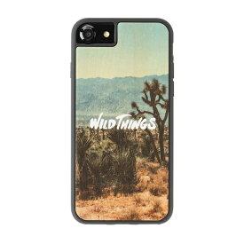 HAMEE ハミィ iPhone SE(第2世代)4.7インチ/ iPhone8/7/6s/6(4.7) WILD THINGS(ワイルドシングス) × kibaco Wood Case WILD THINGS WILD 663-916643