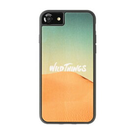 HAMEE ハミィ iPhone SE(第2世代)4.7インチ/ iPhone8/7/6s/6(4.7) WILD THINGS(ワイルドシングス) × kibaco Wood Case WILD THINGS DESERT 663-916650