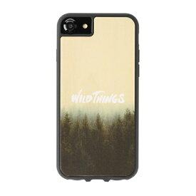 HAMEE ハミィ iPhone SE(第2世代)4.7インチ/ iPhone8/7/6s/6(4.7) WILD THINGS(ワイルドシングス) × kibaco Wood Case WILD THINGS HAZE 663-916667