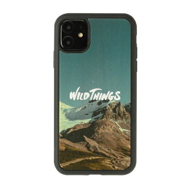 HAMEE ハミィ iPhone 11/XR WILD THINGS(ワイルドシングス) × kibaco Wood Case WILD THINGS RIDGE 663-916728