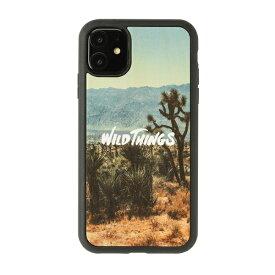 HAMEE ハミィ iPhone 11/XR WILD THINGS(ワイルドシングス) × kibaco Wood Case WILD THINGS WILD 663-916735