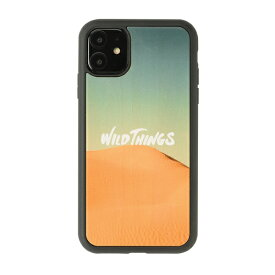 HAMEE ハミィ iPhone 11/XR WILD THINGS(ワイルドシングス) × kibaco Wood Case WILD THINGS DESERT 663-916742