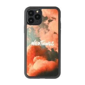 HAMEE ハミィ iPhone 11 Pro WILD THINGS(ワイルドシングス) × kibaco Wood Case WILD THINGS PINK CLOUD 663-916803