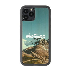 HAMEE ハミィ iPhone 11 Pro WILD THINGS(ワイルドシングス) × kibaco Wood Case WILD THINGS RIDGE 663-916810