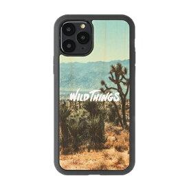 HAMEE ハミィ iPhone 11 Pro WILD THINGS(ワイルドシングス) × kibaco Wood Case WILD THINGS WILD 663-916827