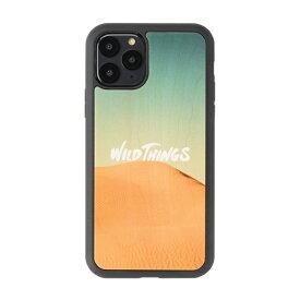 HAMEE ハミィ iPhone 11 Pro WILD THINGS(ワイルドシングス) × kibaco Wood Case WILD THINGS DESERT 663-916834