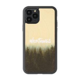 HAMEE ハミィ iPhone 11 Pro WILD THINGS(ワイルドシングス) × kibaco Wood Case WILD THINGS HAZE 663-916841