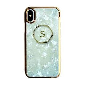 サムライワークス SAMURAI WORKS iPhoneXS/Xイニシャルアセチケース S