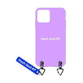 サムライワークス SAMURAI WORKS iPhone11Pro #Fマットケース ピンク Hash feat.#F