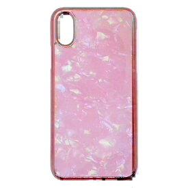 サムライワークス SAMURAI WORKS iPhoneXR アセチケース ピンクホロ ピンク Hash feat.#F