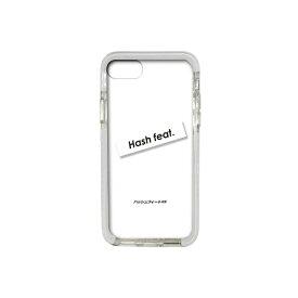 サムライワークス SAMURAI WORKS iPhone8/7 #Fロゴ入りタフケース ホワイト Hash feat.#F