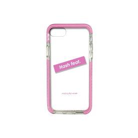 サムライワークス SAMURAI WORKS iPhone8/7 #Fロゴ入りタフケース ピンク Hash feat.#F