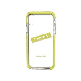 サムライワークス SAMURAI WORKS iPhoneXS/X#Fロゴ入りタフケース グリーン Hash feat.#F