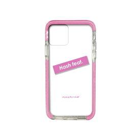 サムライワークス SAMURAI WORKS iPhone11Pro #Fロゴ入りタフケース ピンク Hash feat.#F