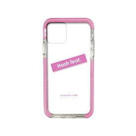 サムライワークス SAMURAI WORKS iPhone11 #Fロゴ入りタフケース ピンク Hash feat.#F