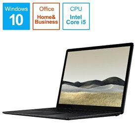 マイクロソフト Microsoft SurfaceLaptop3 [13.5型 /SSD 256GB /メモリ 16GB /Intel Core i5 /ブラック/2020年] VPT-00032 ノートパソコン サーフェスラップトップ3[13.5インチ office付き 新品 windows10]