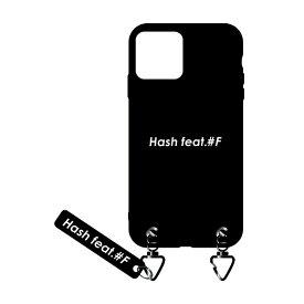 サムライワークス SAMURAI WORKS iPhone11 #Fマットケース ブラック Hash feat.#F