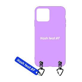 サムライワークス SAMURAI WORKS iPhone11 #Fマットケース ピンク Hash feat.#F